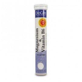 Diocare Magnesium & Vitamin B6 24 Αναβράζοντα Δίσκια