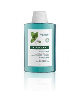 Klorane Anti-Pollution Detox Shampoo with Aquatic Mint Σαμπουάν Αποτοξίνωσης, 200ml
