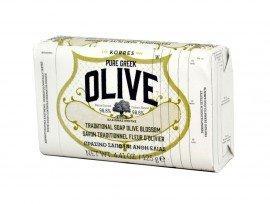 KORRES Pure Greek Olive Πράσινο Σαπούνι Άνθη Ελιάς 125gr