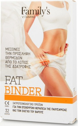Power Health Familys Vitamins Fat Binder 32 κάψουλες
