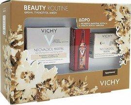 Vichy Πακέτο Προσφοράς Beauty Routine με Neovadiol Magistral Κρέμα Αποκατάστασης για Ξηρές Επιδερμίδες, 50ml & Δώρο Magistral Night Cream Πλούσια Κρέμα Νύχτας, 15ml & Liftactiv Glyco-C Night Peel Αμπούλα Νύχτας, 2ml