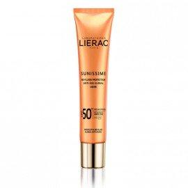Lierac Sunissime BB Fluide Protecteur Anti-Age Global SPF50+ Dore, Λεπτόρρευστη Αντηλιακή & Αντιγηραντική Κρέμα Με Χρώμα, 40ml