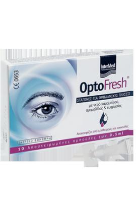 Intermed Optofresh Drops Σταγόνες για Οφθαλμικές Πλύσεις, 10 x 0,5ml