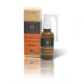 Apivita Propolis Βιολογικό Spray για το Λαιμό με Πρόπολη & Αλθέα, με Αντισηπτικές, Αντιοξειδωτικές & Θεραπευτικές Ιδιότητες, 30ml