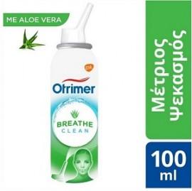 Otrimer Breathe Clean με Aloe Vera Ρινικό Αποσυμφορητικό, Μέτριος Ψεκασμός για Ενήλικες & Παιδιά άνω των 6 Ετών, 100ml
