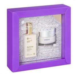 Panthenol Extra Promo Femme Eau De Toilette Bergamot,Cedarwood,Vanilla 50ml & Face & Eye Cream Αντιρυτιδική 50ml
