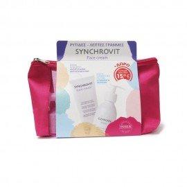 Synchroline Promo Pack με Synchrovit Face Cream Αντιγηραντική Κρέμα Προσώπου, 50ml & Δώρο Cleancare Intimo Απαλό Καθαριστικό για την Ευαίσθητη Περιοχή, 200ml