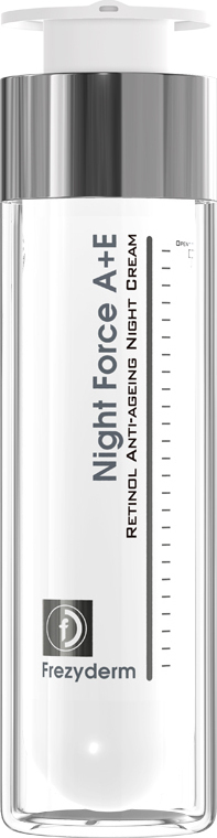 Frezyderm Night Force A + E Anti-Ageing Cream, Αντιγηραντική Κρέμα Νύχτας για Πρόσωπο & Λαιμό, 50ml