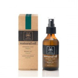 Apivita Natural Organic Laurel Oil Βιολογικό έλαιο Δάφνη για Μαλλιά, 100ml