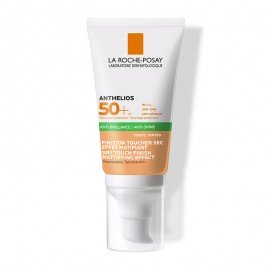 La Roche Posay Anthelios XL Anti-Shine Tinted SPF50+ Αντηλιακή Κρέμα Προσώπου με Χρώμα για Ματ Αποτέλεσμα, 50ml