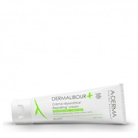 A-Derma Dermalibour Creme Reparatrice, Για πολύ Ξηρό Δέρμα, Κατάλληλο για Βρέφη-Παιδιά-Ενήλικες 50ml