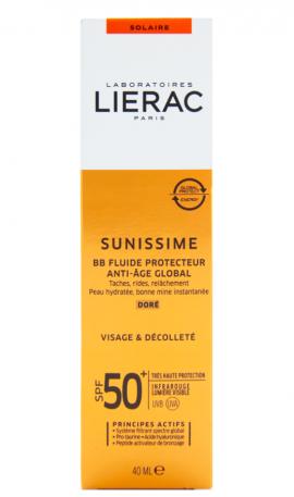 Lierac Sunissime Protective Fluid Global Anti-Aging SPF50+ Αντηλιακή Κρέμα Προσώπου με Αντιγηραντική Δράση, 40ml