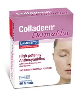 Lamberts Colladeen Derma Plus Κολλαγόνο, Ανθοκυανιδίνες για Μαλλιά, Νύχια & Δέρμα 60 Ταμπλέτες
