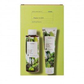 Korres Promo Mint Tea Αφρόλουτρο Πράσινο Τσάι 250ml & Γαλάκτωμα Σώματος 125ml