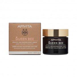 Apivita Queen Bee Kρέμα Νύχτας Ολιστικής Αντιγήρανσης - Holistic Anti-Aging Night Cream, 50ml