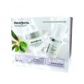Macrovita Πακέτο Προσφοράς 24ωρη Υπερθρεπτική Κρέμα Προσώπου για Ξηρό έως Αφυδατωμένο Δέρμα 40ml & Δώρο Κρέμα Ματιών για όλους τους τύπους δέρματος 15ml
