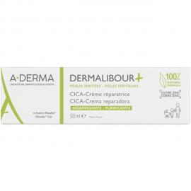 A-derma Dermalibour Cica-Cream Αποτελεσματική Κρέμα για Πρόσωπο και Σώμα Διάρκειας 24 Ώρες και 100% Φυσικής Προέλευσης, 50ml