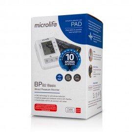 Microlife BP B2 Basic Ψηφιακό Πιεσόμετρο Μπράτσου με Ανίχνευση Ακανόνιστων Καρδιακών Παλμών, 1 τεμάχιο