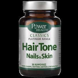 Power Health Platinum Range Health Hair Tone, Nails & Skin, Συμπλήρωμα για Μαλλιά, Δέρμα & Νύχια, 30 Κάψουλες