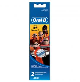Oral-B Kids Ανταλλακτικές Κεφαλές Disney Incredibles2 2 τμχ