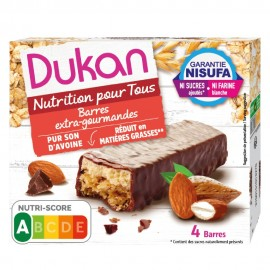 Dukan Γκοφρέτες Βρώμης με Σοκολάτα, 4 τεμάχια