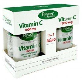 Power Health Platinum Vitamin C με Βιοφλαβονοειδή 1000mg, 30 δισκία + ΔΩΡΟ Vitamin C 1000mg, 20 δισκία