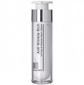 Frezyderm Anti-Wrinkle Rich Night Cream 45+, Αντιρυτιδική Κρέμα Νύχτας για Πρόσωπο & Λαιμό AntiWrinkle, 50ml