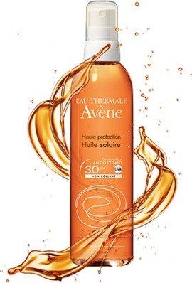 Avene Huile Solaire SPF30 Αντιηλιακό - Spray Λάδι Σώματος, 200ml