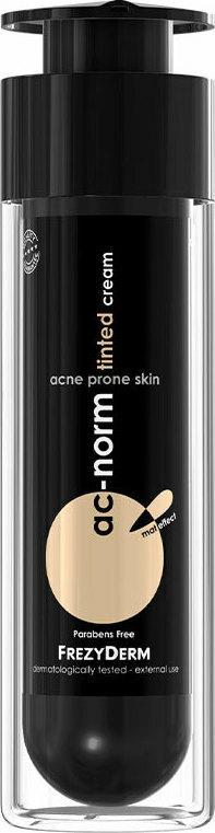 Frezyderm Ac-Norm Tinted Cream, Σμηγματορυθμιστική Κρέμα με Χρώμα AcNorm, 50ml