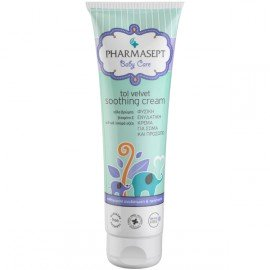 Pharmasept Baby Care Soothing Cream, Βρεφική Ενυδατική Κρέμα για το Πρόσωπο & το Σώμα, 150ml