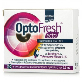 Intermed Optofresh Ecto Eye Drops Οφθαλμικές Σταγόνες Κατά Της Επιπεφυκίτιδας 10x0,5ml