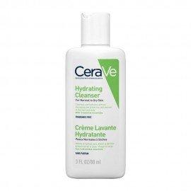 CeraVe Hydrating Cleanser Κρέμα Καθαρισμού για Κανονική - Ξηρή Επιδερμίδα 88ml