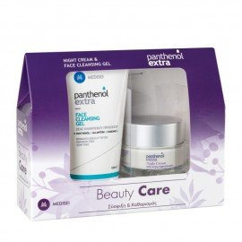 Panthenol Extra Promo Night Cream 50ml & Face Cleansing gel 150ml