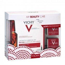 Vichy My Beauty Care Promo Liftactiv Specialist Αμπούλες για Αντιγηραντική Δράση, 30τμχx1.8ml & Liftactiv Collagen Specialist Κρέμα Προσώπου, 2x15ml
