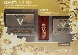 Vichy Πακέτο Πακέτο Beauty Routine με Neovadiol Compensating Complex Κρέμα Ημέρας Κανονικές/Μικτές Επιδερμίδες, 50ml & Δώρο Compensating Complex Night Κρέμα Νύχτας, 15ml & Liftactiv Glyco C Αμπούλα Νυκτός, 2ml