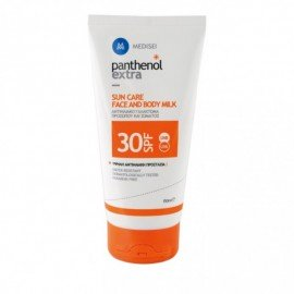 Panthenol Extra Sun Care Face & Body Milk SPF30, Αντηλιακό Γαλάκτωμα Προσώπου/Σώματος 150ml