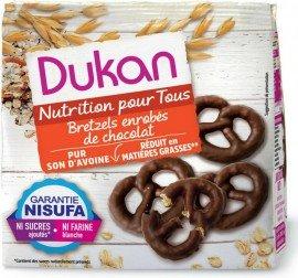 Dukan Expert Pretzels Βρώμης με Επικάλυψη Σοκολάτας, 100gr