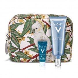Vichy Promo Aqualia Volcano Drop Κρέμα 48h Ενυδάτωσης & Ενεργοποίησης Λάμψης, 75ml & Δώρο Mineral Probiotic Booster Ανάπλασης & Επανόρθωσης, 5ml & Νεσεσέρ, 1τεμ