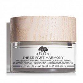 Origins Three Part Harmony Day/Night Eye Cream Duo For Renewal, Repair & Radiance, Πολυτελής Αντιγηραντική Κρέμα Gel Ματιών, 15ml