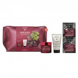 Apivita Promo Wine Elixir Rich 50ml & Δώρο Cleansing Milk 3σε1 50ml & Δώρο Express Mask Anti-Wrinkle Grape 2x8ml