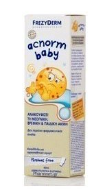 Frezyderm Acnorm Baby Απαλή Κρέμα για τη Νεογνική, Βρεφική & Παιδική Ακμή, 40ml
