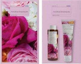 Korres Set Αφρόλουτρο Floral Body Pampering Γιαπωνέζικο Τριαντάφυλλο 250ml & Γαλάκτωμα Σώματος 125ml
