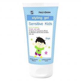 Frezyderm Sensitive Kids Styling Gel Παιδικό Ζελέ Μαλλιών για Δυνατό Κράτημα, 100ml
