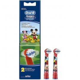 Oral-B Kids Κεφαλές Οδοντόβουρτσας Mickey - Minnie Mouse, 2pcs