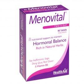 Health Aid Menovital Hormonal Balance, Συμπλήρωμα για την Εμμηνόπαυση, 60tabs