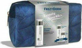 Frezyderm Πακέτο Προσφοράς Beauty Sparkles με Dermiox Cream Αντιρυτιδική Κρέμα Προσώπου & Λαιμού, 50ml & Δώρο Neck Contour Cream Κρέμα Σύσφιξης Λαιμού, 15ml & Eye Cream Συσφικτική Κρέμα Ματιών, 5ml & Νεσεσέρ Μεταφοράς, 1τεμ