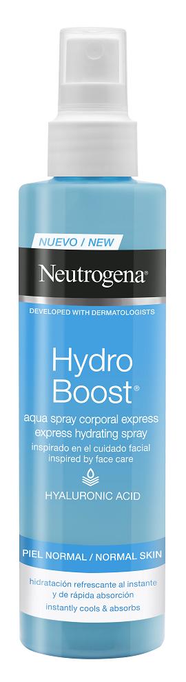 Neutrogena® Hydro Boost Aqua Spray Άμεσης Ενυδάτωσης Σώματος, 200ml