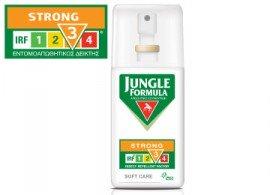 Omega Pharma Jungle Formula Strong Care Spray με IRF3, Άοσμο Εντομοαπωθητικό Σπρέι για Ενήλικες & Παιδιά από 3 ετών, 75ml