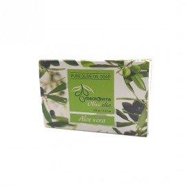 Macrovita Pure Olive Oil Soap Aloe Vera Φυσικό Σαπούνι Ελαιολάδου Aloe Vera 100gr