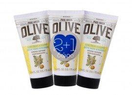 Korres Hand Cream Pure Greek Olive Κρέμα Χεριών Περγαμόντο 75ml 2+1 Δώρο